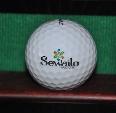Sewailo Golf Club Tucson Arizona logo golf ball. Titleist.