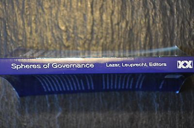 Spheres of Governance : Comparative Studies of Cities in Multilevel...