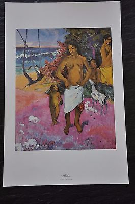"Bathers by Paul Gauguin Fine Art Print 17"" x 11"""
