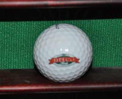 Delco Foods Fine Italian & Specialty Foods logo golf ball. Titleist Pro V1