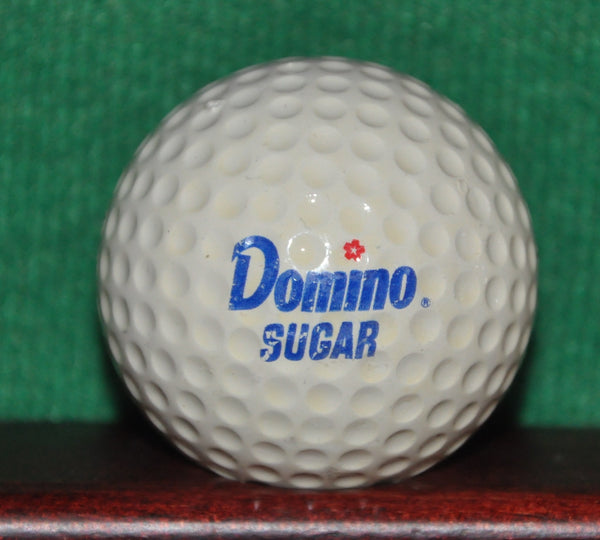 Vintage Domino Sugar Golf Ball. MacGregor Tourney
