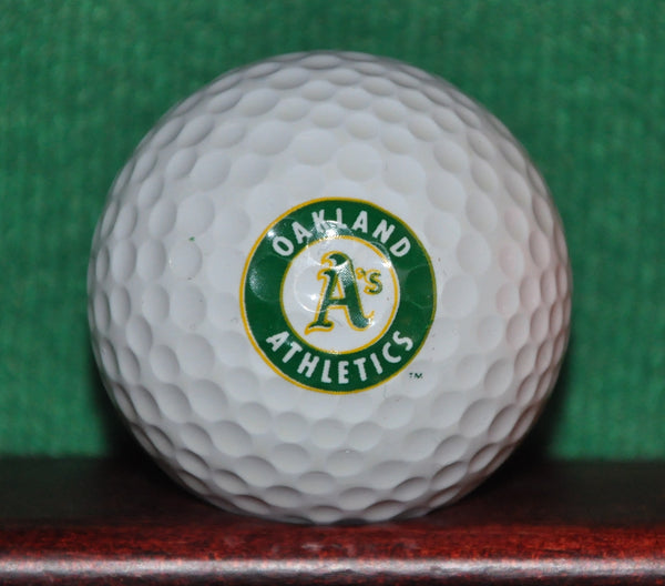 Oakland Athletics Two Sided Logo Golf Ball. Excellent Condition
