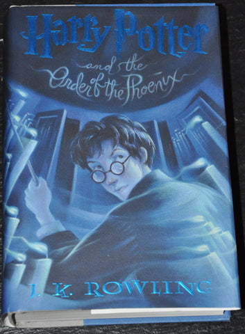 Harry Potter and the Order of the Phoenix -Book 5 by JK Rowling (2003 Hardcover) First Edition