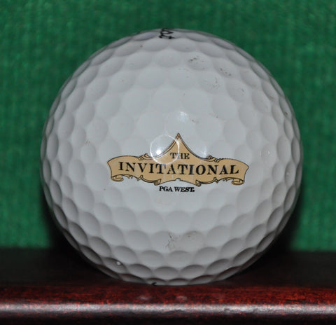 The Invitational At PGA West Tournament Logo Golf Ball Titleist Pro V1