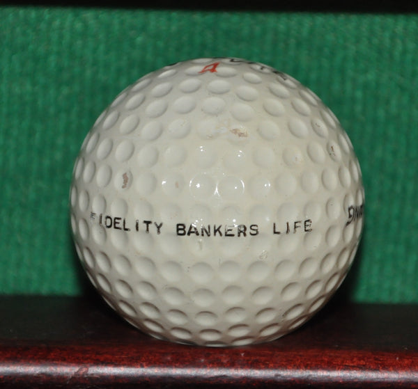 Vintage Fidelity Bankers Life Logo Golf Ball