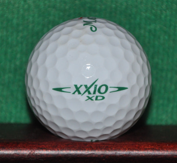The Masters Golf Tournament Augusta National logo golf ball. XXIO. Mint Condition