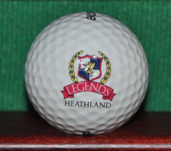 Heathland Legends Golf and Resort Myrtle Beach South Carolina Logo Golf Ball