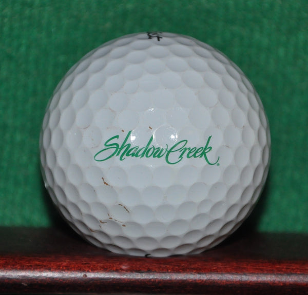 Shadow Creek Golf Course Las Vegas Titleist Pro V1