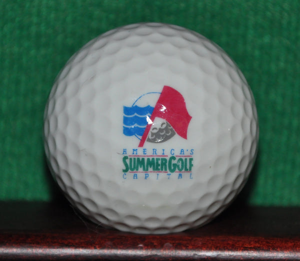 The Legend Shanty Creek Resort Michigan Logo Golf ball