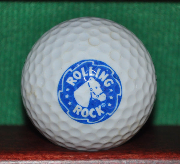 Rolling Rock Beer Logo Golf Ball