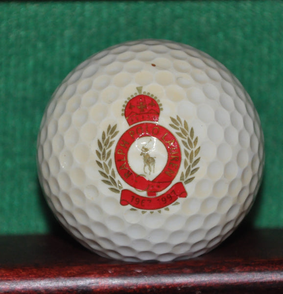 Polo Ralph Lauren Logo Golf Ball. 1997