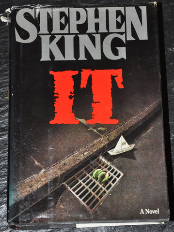 It by Stephen King (1986, Hardcover) First Edition