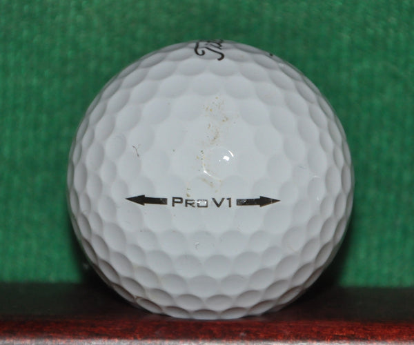 Trend Micro Internet Security logo golf ball. Titleist Pro V1