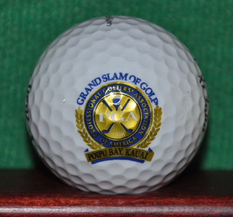 PGA Grand Slam of Golf, Poipu Bay Kauai Hawaii Logo Golf Ball. Excellent