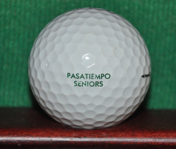 Pasatiempo Golf Club Santa Cruz California Logo Ball Titleist Pro V1