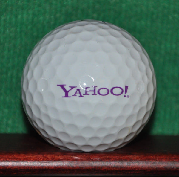 Yahoo ! Corporation Logo Golf Ball. Nike One Tour