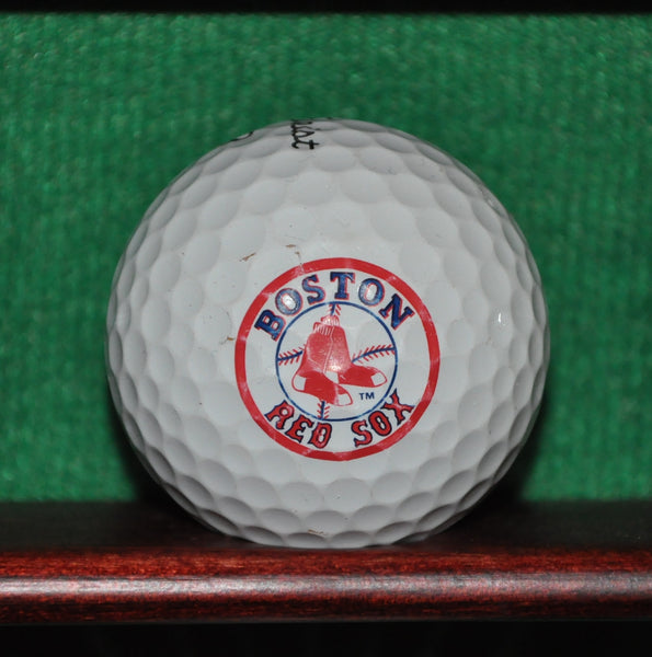 Boston Red Sox MLB logo golf ball. Titleist Pro V1