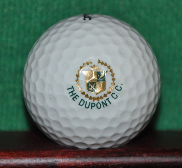 The Dupont Country Club Wilmington Delaware Logo Golf Ball. Titleist. Excellent Condition