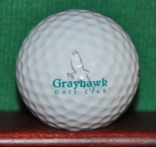 Grayhawk Golf Club Scottsdale Arizona Logo Ball. Excellent Condition. Talon Course