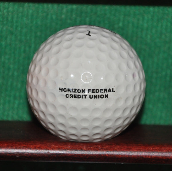 Vintage Acushnet Club Special Golf Ball Horizon Federal Credit Union