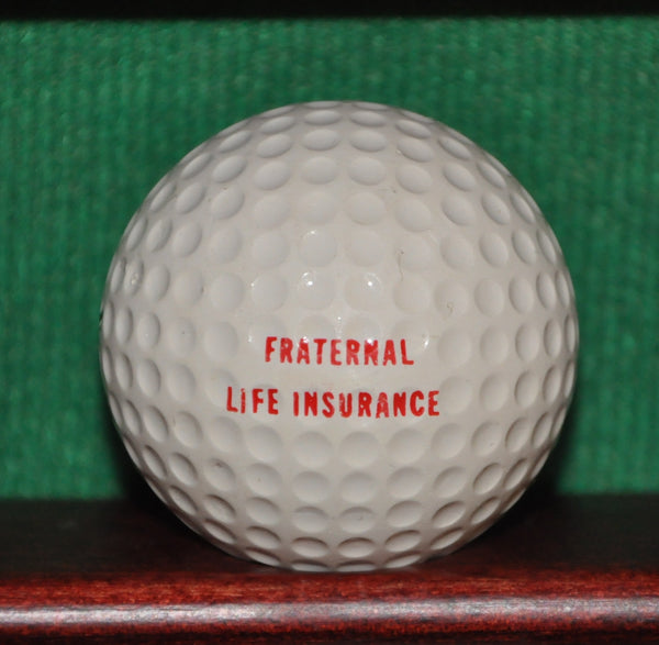 Vintage Modern Woodmen Insurance Logo Golf Ball