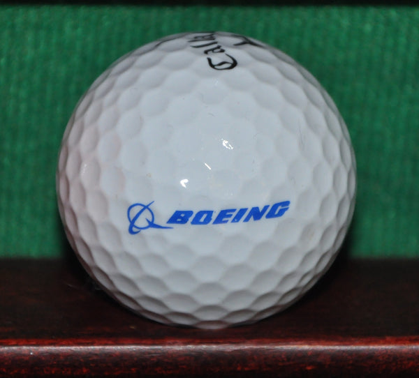 Boeing Aerospace Company Logo Golf Ball. Callaway