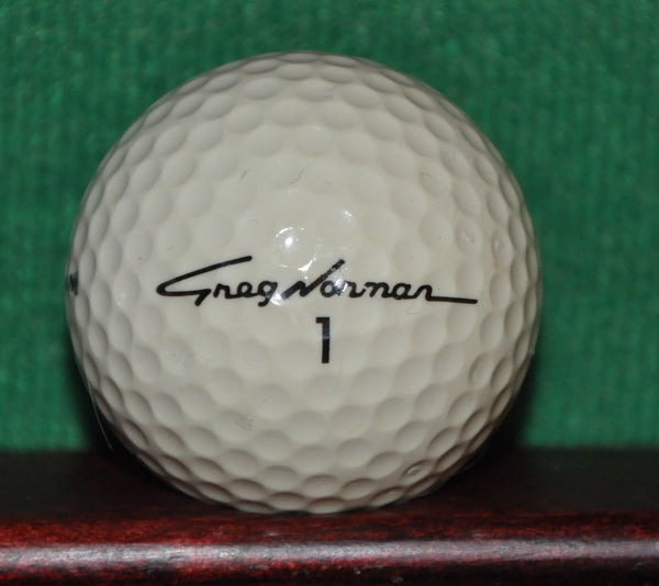 Vintage Greg Norman Signature #1 Golf Ball