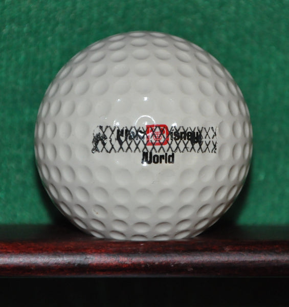 Vintage Walt Disney World Mickey Mouse Error Logo Golf Ball