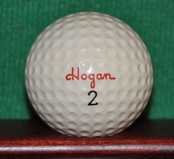 Vintage Hogan Apex S 90 Golf Ball with Texstar Plastics Logo Golf Ball