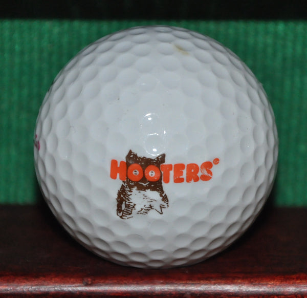 Hooters Restraunt and Bar Logo Golf Ball