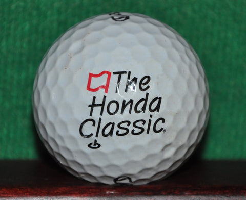 The Honda Classic PGA Tour Event in Florida logo Golf Ball. Callaway