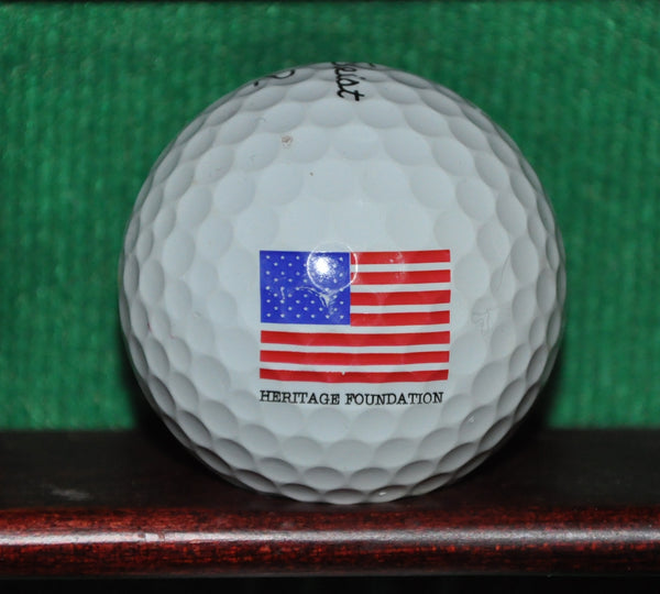 The Heritage Foundation Logo Golf Ball. Titleist Pro V1