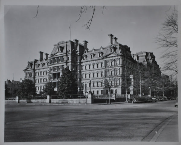 "Original 1950s 8"" x 10"" Photo of The Old State Building Washington DC"