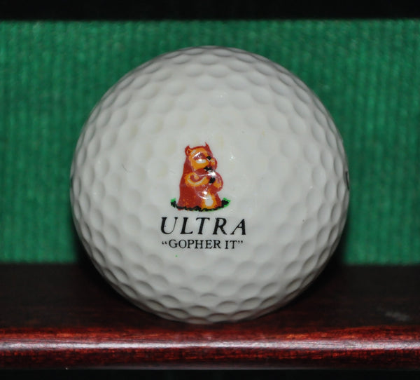 Ultra ' Gopher It ' Caddyshack Theme Logo Golf Ball