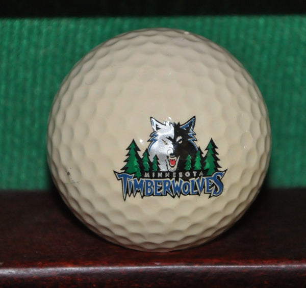 Minnesota Timberwolves NBA Basketball Logo Golf Ball
