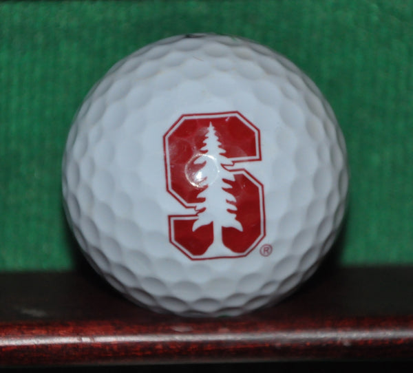 Stanford University Cardinal Athletics Tree Logo Golf Ball. Nike