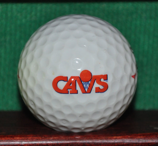 Vintage Cleveland Cavaliers NBA Logo Golf Ball