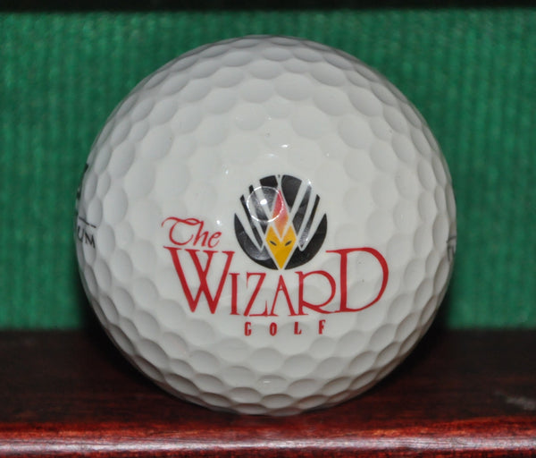 The Wizard Golf Club Myrtle Beach South Carolina Logo Golf Ball
