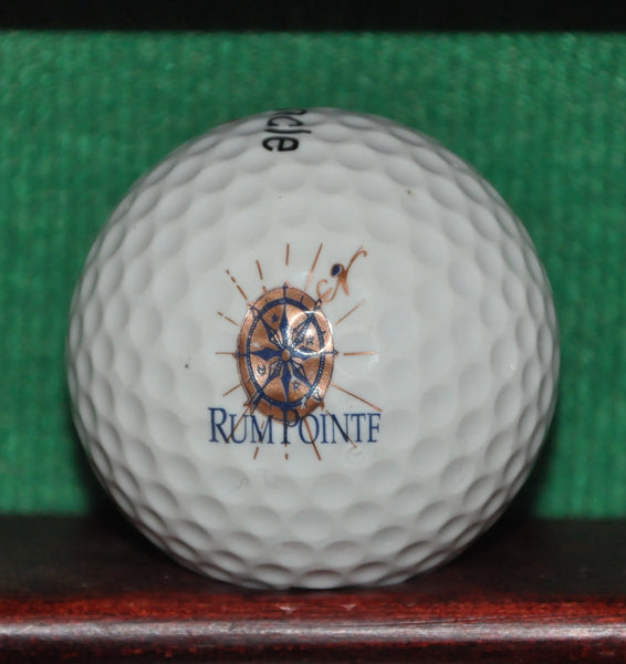 Rum Pointe Seaside Golf Links Ocean City Maryland Logo Golf Ball