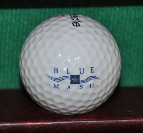 Blue Mash Golf Course Montgomery County Maryland Logo Golf Ball
