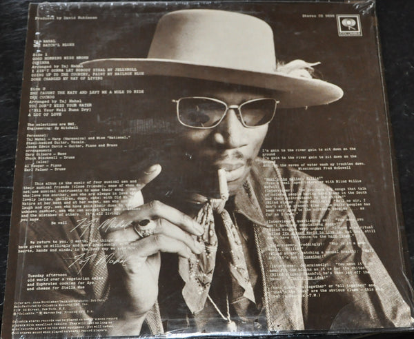 Taj Mahal The Natch'l Blues Vinyl Record LP