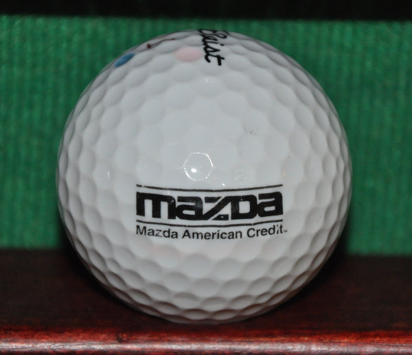 Mazda Motors Logo Golf Ball. Titleist NXT Tour