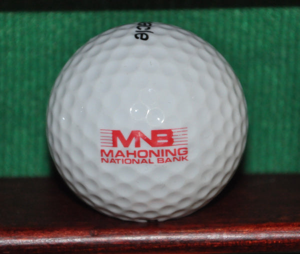 Mahoning National Bank Youngstown Ohio Logo Golf Ball