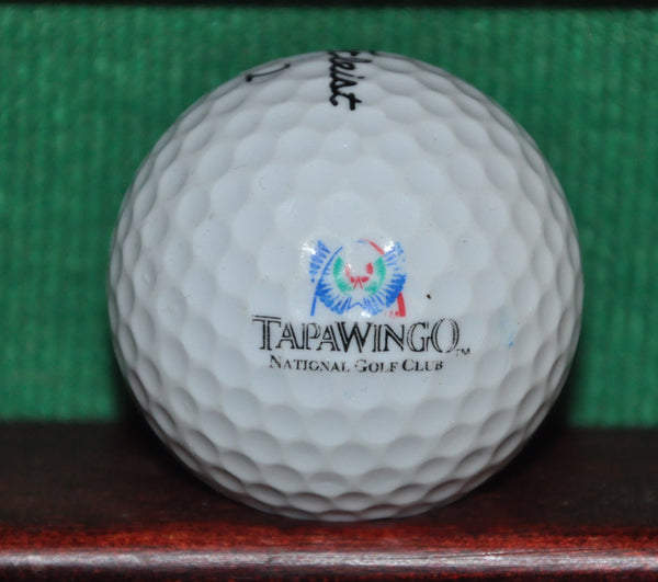 Tapawingo National Golf Club St. Louis Missouri Logo Golf Ball. Titleist