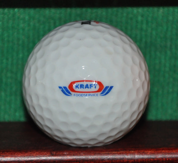 Vintage Kraft Foods Corporation Logo Golf Ball. Excellent Condition