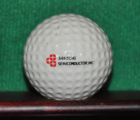 Early Samsung Corporation Logo Golf Ball ~ 1975 PGA S-168