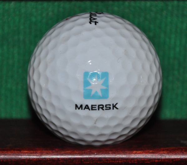 Maersk Shipping Corporation logo Golf Ball. Titleist.
