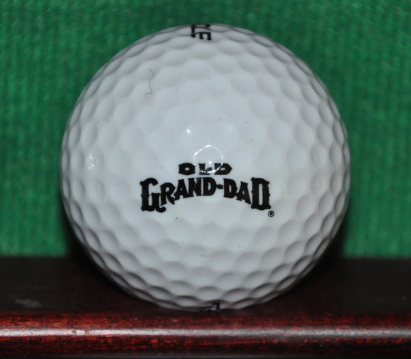 Old Grand Dad Kentucky Bourbon Whiskey Logo Golf Ball