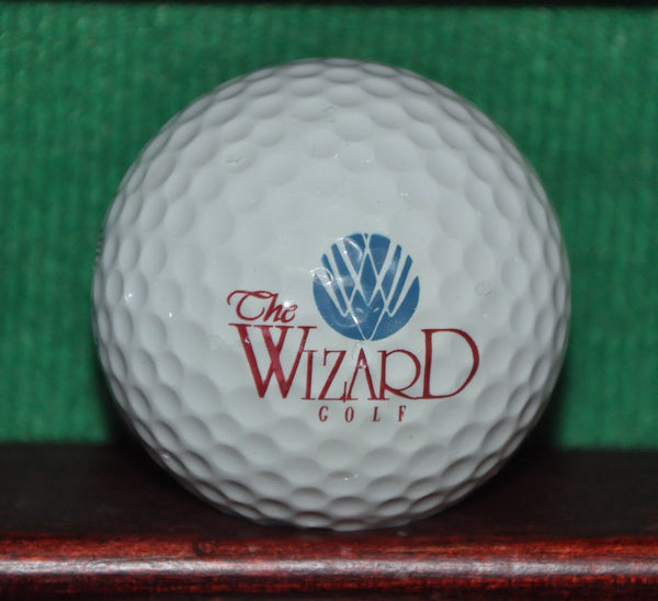 The Wizard Golf Course Myrtle Beach South Carolina Logo Golf Ball