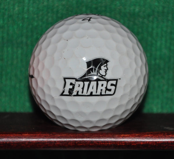 Providence University College Friars NCAA Logo Golf ball. Titleist Pro V1